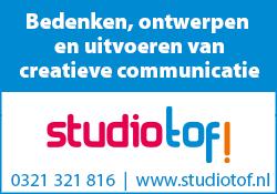 Advertentie StudioTof